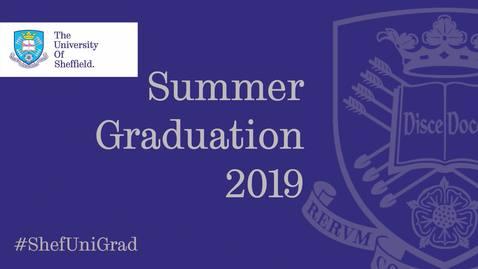 Thumbnail for entry Summer Graduation 2019 - Friday 19 July 9.30am