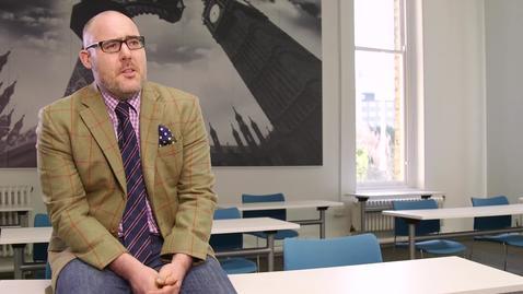 Thumbnail for entry Professor Matt Flinders - a truly  'Inspirational Teacher'
