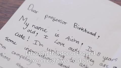 Thumbnail for entry Aisha's Letter