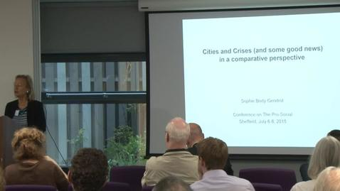 Thumbnail for entry Cities and Crises (and some good news) in comparative perspectives