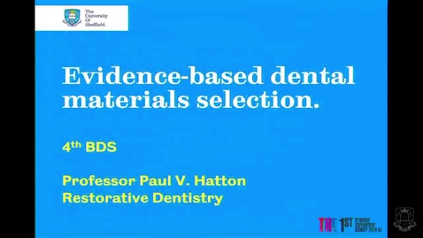 Thumbnail for entry Evidence-based Materials Selection 1 - Quiz