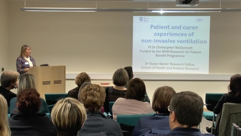 Thumbnail for entry Non-Invasive Ventilation – Patient and Carer Experiences