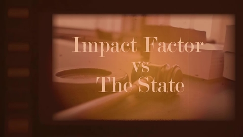 Thumbnail for entry Impact Factor on trial