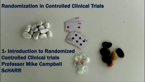 Thumbnail for entry Introduction to Randomized Controlled Clinical Trials