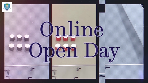 Thumbnail for entry Undergraduate Open Day 2021