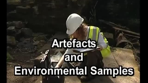 Thumbnail for entry iDig Artefacts and Environmental Samples