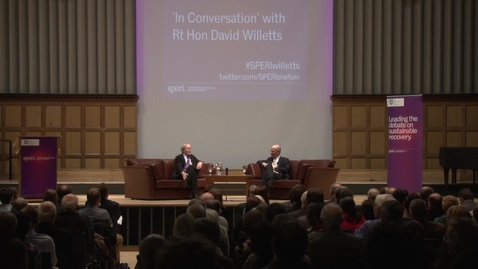 Thumbnail for entry David Willetts In Conversation