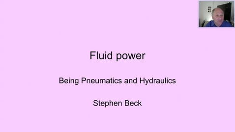 Thumbnail for entry Introduction to Fluid Power