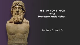 Thumbnail for entry Lecture 6 - Kant 3
