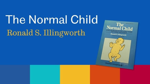 Thumbnail for entry Sheffield Authors Showcase - Ronald Illingworth - The Normal Child