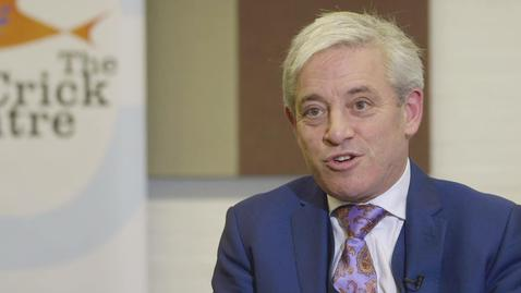 Thumbnail for entry An Interview with John Bercow - Speaker of the House of Commons