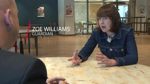 Thumbnail for entry Zoe Williams in Conversation