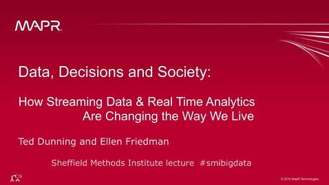 Thumbnail for entry How data is changing the way we live