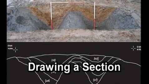 Thumbnail for entry iDig Drawing a Section