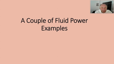 Thumbnail for entry Fluid power examples