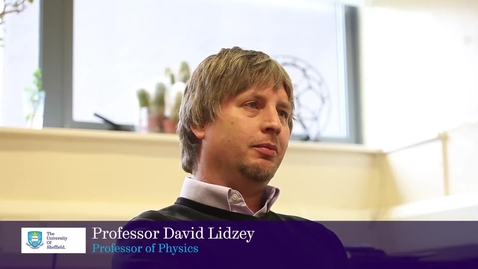Thumbnail for entry Defining Moments with Professor David Lidzey