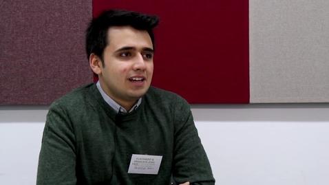 Thumbnail for entry Usman graduate case study, British Steel