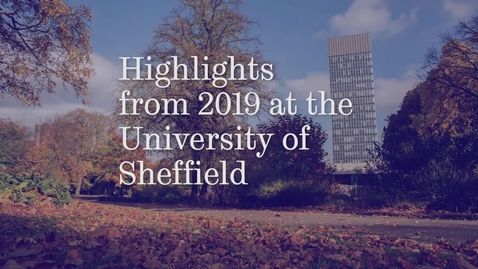 Thumbnail for entry 2019 at the University of Sheffield