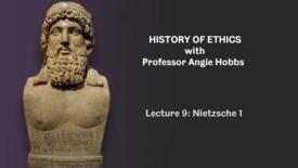 Thumbnail for entry Lecture 9 - Nietzsche 1