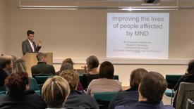 Thumbnail for entry Motor Neurone Disease – Our Clinical Research Programme at SITraN
