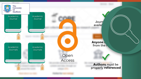 Thumbnail for entry Discovering Open Access Academic Sources