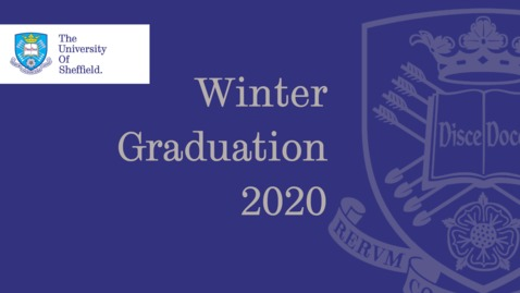 Thumbnail for entry Winter Graduation 2020