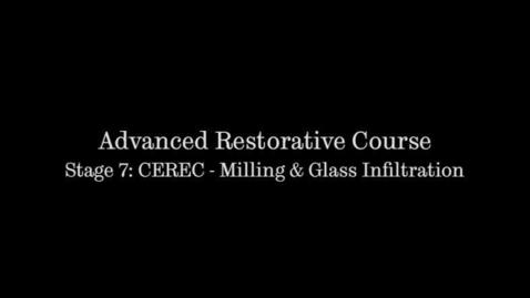 Thumbnail for entry Restoring a tooth (CAD-CAM Ceramic) - Part 2