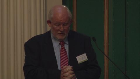 Thumbnail for entry Charles Clarke: Good Governance and good values