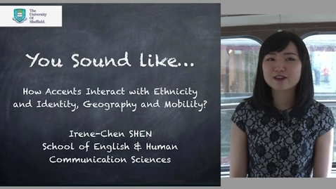 Thumbnail for entry How Accents Interact with Ethnicity and Identity, Geography and Mobility