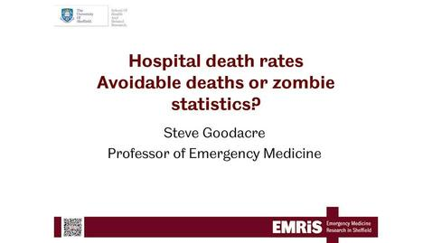 Thumbnail for entry Hospital Death Rates: Avoidable Deaths Or Zombie Statistics?