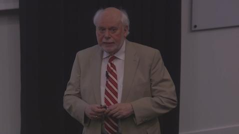 Thumbnail for entry Sir Fraser Stoddart - Krebs Lecture 2017