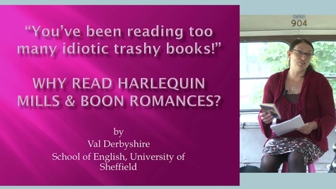 """Thumbnail for entry """"You've Been Reading Too Many Idiotic Trashy Books!"""": Why Read Harlequin Mills & Boon Romances?"""