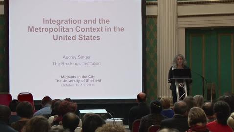 Thumbnail for entry Integration and the metropolitan context in the United States