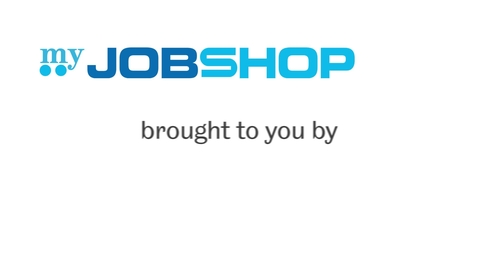 Thumbnail for entry myJobshop (for hiring managers)