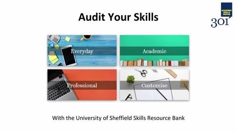 Thumbnail for entry Skills Audit Guide