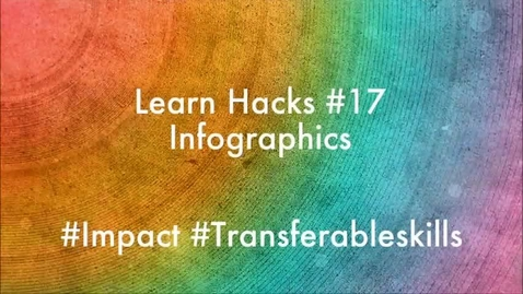 Thumbnail for entry ScHARR Learn Hacks #17 Infographics