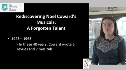 Thumbnail for entry Rediscovering Noël Coward's Musicals: A Forgotten Talent