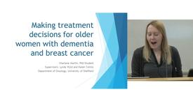 Thumbnail for entry Making proxy treatment decisions for older women with dementia and breast cancer
