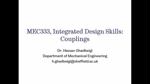 Thumbnail for entry MEC 333- Couplings