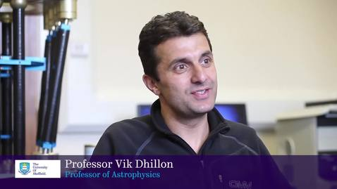 Thumbnail for entry Defining Moments with Professor Vik Dhillon