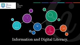 Thumbnail for entry What is information and digital literacy?