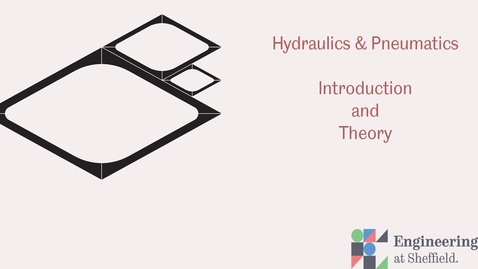 Thumbnail for entry Introduction to Hydraulics & Pneumatics