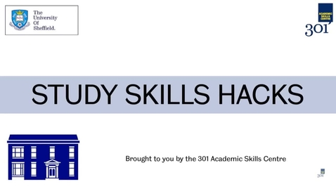 Thumbnail for entry 301 Academic Skills Centre