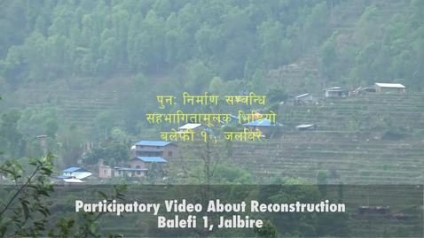 Thumbnail for entry Jalbire Reconstruction