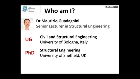 Thumbnail for entry Civil & Structural Engineering (Headstart)