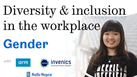 Thumbnail for entry Diversity and inclusion in the workplace: Gender