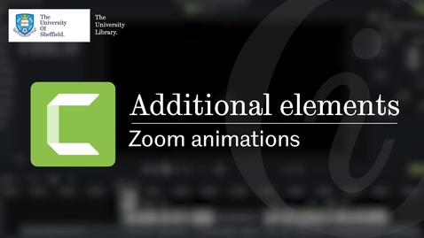 Thumbnail for entry Additional elements: zoom animations