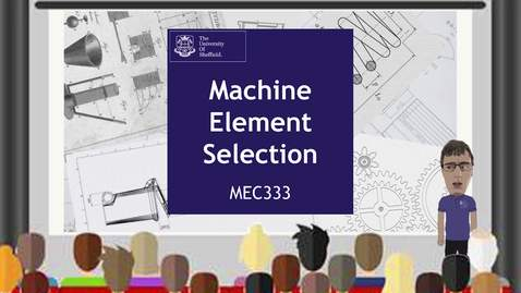 Thumbnail for entry Machine Elements  Selection
