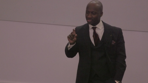 Thumbnail for entry 'Nobody rises to low expectations' by Tunde Okewale MBE