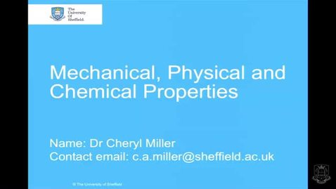 Thumbnail for entry Properties of Materials - Quiz